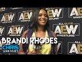 Brandi Rhodes On Awesome Kong Win Over Allie AEW Women39s Championship Scarlett Bordeaux