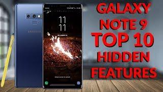 Samsung Galaxy Note 9 Top 10 Hidden Features (20 Tips & Tricks Part 1) - YouTube Tech Guy