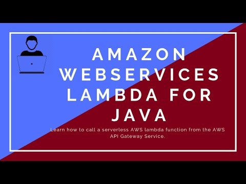 AWS Lambda for Java - Call Lambda function from AWS Gateway