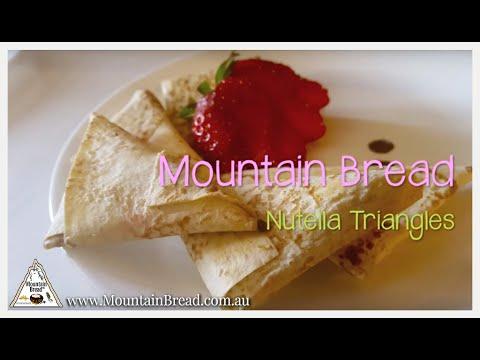 Mountain Bread™ - Nutella Triangles