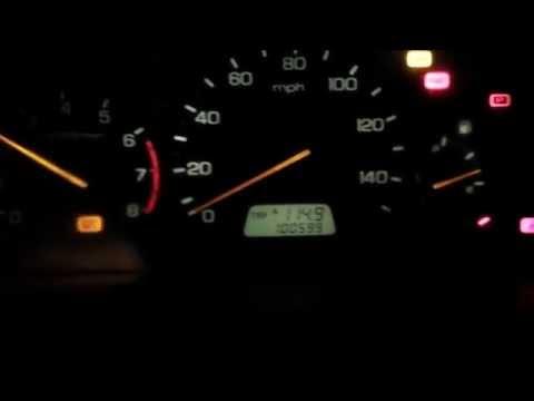 1999 Honda Accord 3.0 VTEC - idle speed adjustment