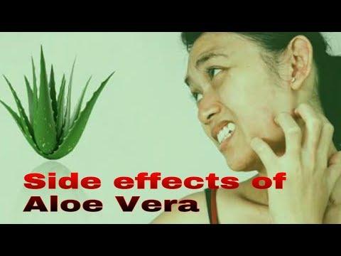aloe vera side effects warnings