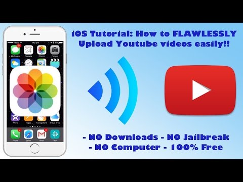 THE MOST FLAWLESS WAY TO UPLOAD YOUTUBE VIDEOS FROM YOUR IOS DEVICE!! | iOS Tutorial
