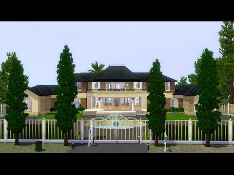 Sims 3 Speed Build - Celebrity Villa (Part 1)