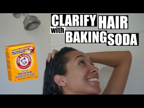 How To Clarify Your Hair Using Baking Soda