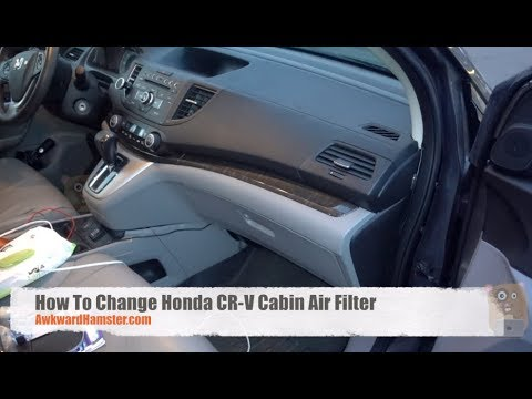 How To Change Honda CR-V Cabin Air Filter