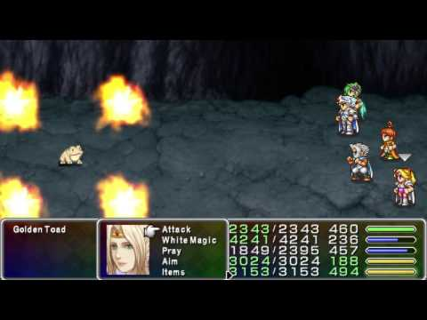 Final Fantasy IV PSP How to beat the Golden Toad