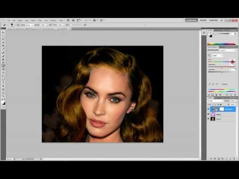 how to change hair color in adobe photoshop cs5