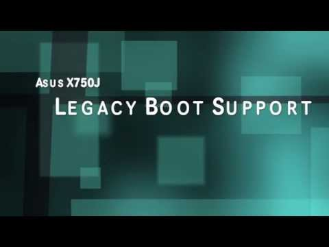 Asus X750J Legacy Boot Support Enable