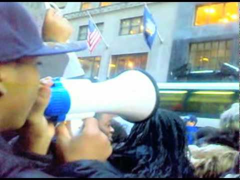 AbNomad Mobile: NYC Student Protest against cancellation of Metrocard Program