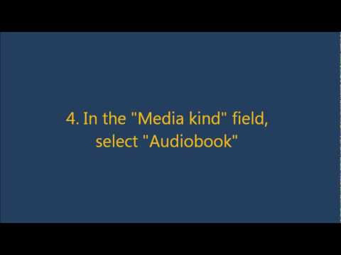 How to add MP3s as Audiobooks on iPhone