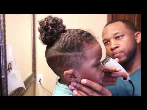 HOW WE CUT HIS HAIR!