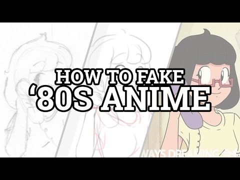 How to Fake '80s Anime