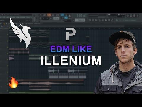 HOW TO MAKE: EDM Like Illenium - FL Studio tutorial + FLP!
