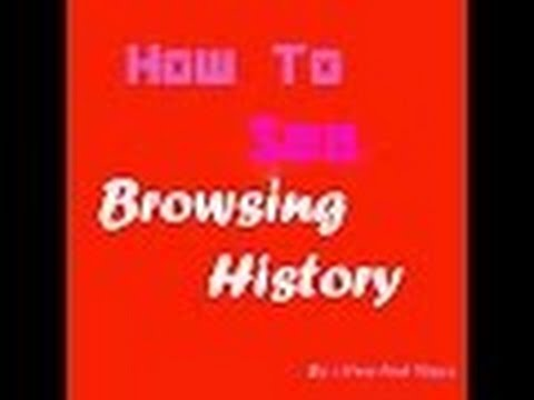how to check private browsing history/ how to see privately browsing history