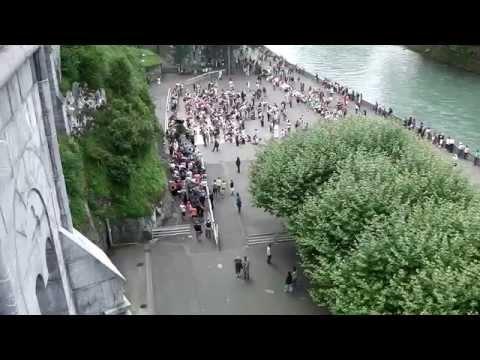 The Sanctuary of Our Lady of Lourdes, Lourdes, France