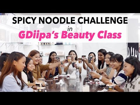 Meet & Greet in Nepal   GDiipa's Beauty Class   Surprise Spicy Noodle Challenge   10 WINNERS