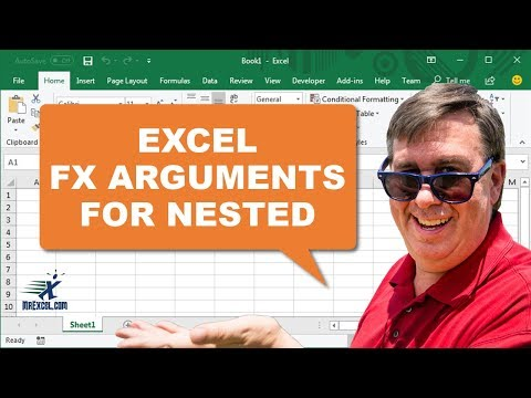Learn Excel - Nested Function Arguments Dialog - Podcast 2073