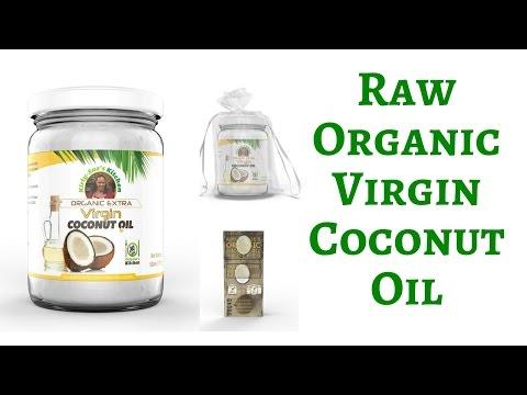 Raw Organic Virgin Coconut Oil -