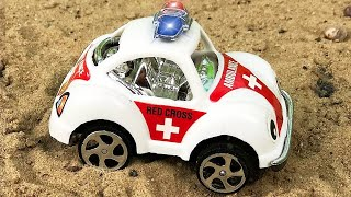 Ambulance, Tow Truck | Emergency Vehicles Cartoon | Cars & Trucks For Kids