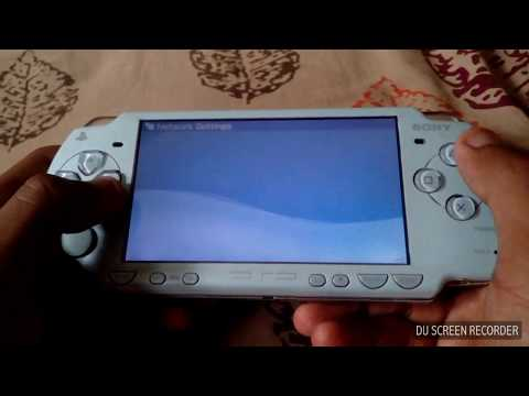 How to connect wifi in psp
