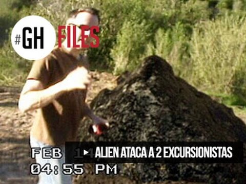 ALIEN ATTACKS AND KILL 2 HIKERS #GHFILES