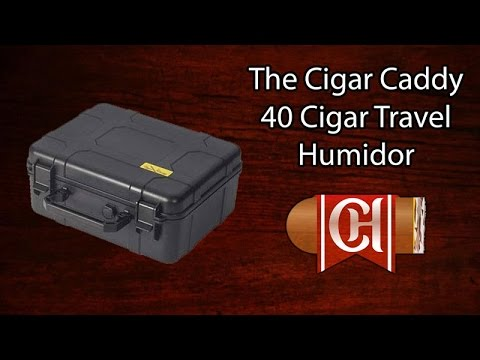 The Cigar Caddy 40 Cigar Travel Humidor