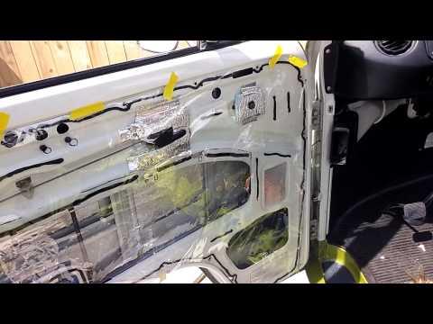 How to replace the vapor barrier of a car door! Another Door