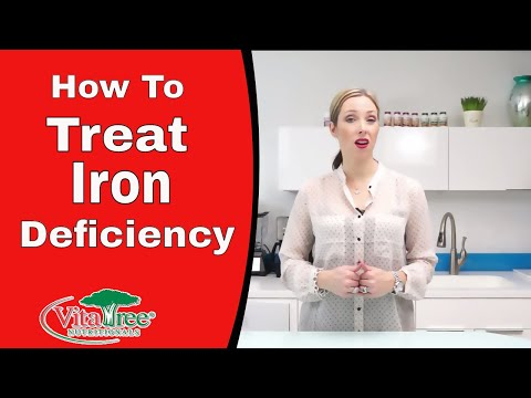 How to Treat Iron Deficiency : Natural Solution Low Iron - VitaLife Show Episode 176