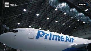 Amazon unveils Prime Air plane
