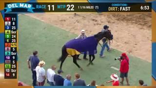 Higher Power wins the $1 Million TVG Pacific Classic (Grade I) Race 10 at Del  Mar 08/17/19