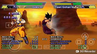Dragon Ball Z Shin Budokai Another Road - GOKU: All Moves and