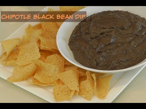 Amy's Chipotle Black Bean Dip or Refried Beans ~ Amy Learns to Cook