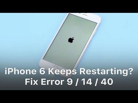 iPhone 6 Keeps Restarting? – Fix Error 9 14 40
