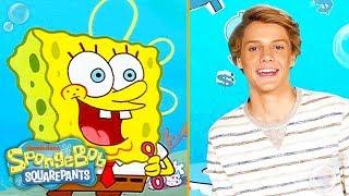 Jace Norman, JoJo Siwa & Alessia Cara on Favorite Characters | SpongeBob