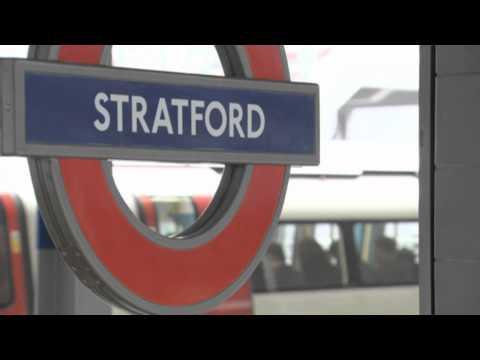London 2012 Transport    Stratford Station