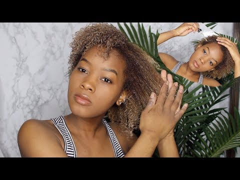 UPDATED NATURAL HAIR ROUTINE | Simple n' Quick