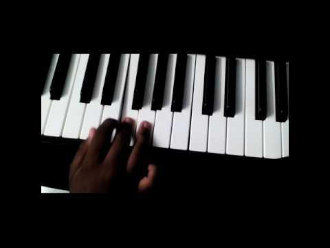 Song baarish played on keyboard.