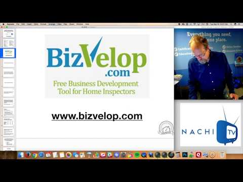 BizVelop.com in NACHI.TV Clip #1 for Home Inspectors