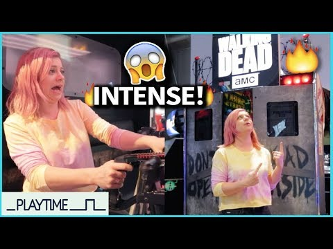 The Walking Dead Arcade Machine Review/Demo PLAYTIME