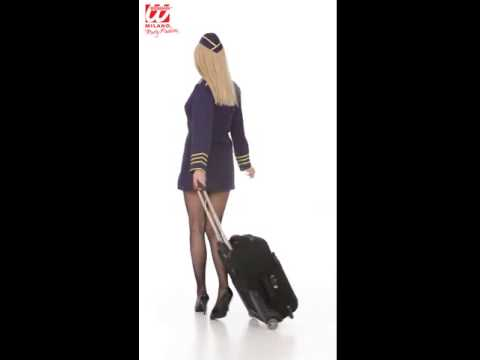 4456   FLIGHT ATTENDANT dress hat