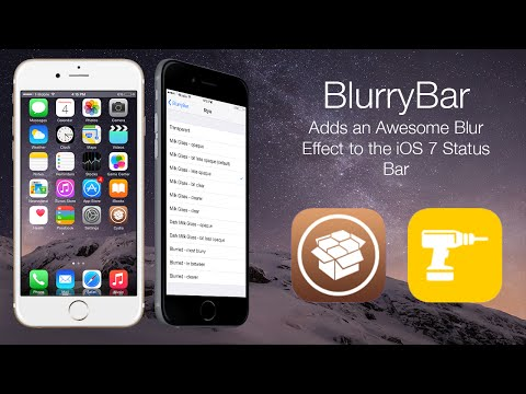 BlurryBar: Adds an Awesome Blur Effect to the iOS 7 Status Bar