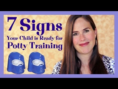 7 Signs Your Child is Ready for Potty Training