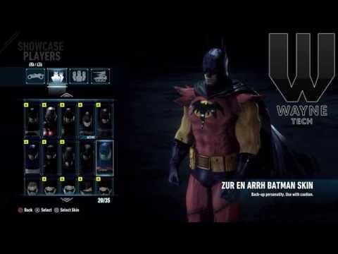 Batman Arkham Knight All Skins!