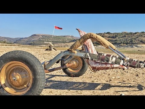 Kite Buggy from Scrap - How to Make it
