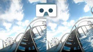 Virtual Reality Roller Coaster for VR Box & Google Cardboard: 3D SBS Underwater Park