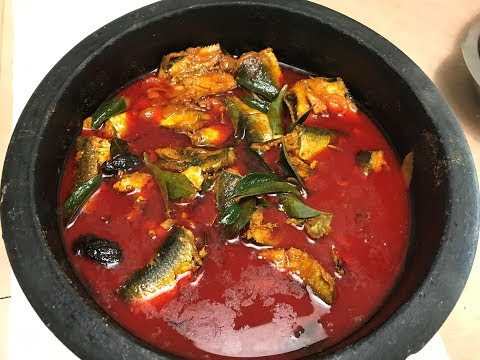 Kerala Style Sardine Fish Curry / Kerala Style Mathi Curry/Sardine Fish Curry