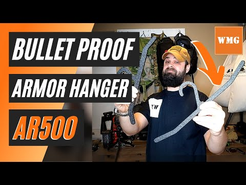 AR500 Body Armor Hanger - First Impressions / Overview - WhatsMyGear.com - Gear Review