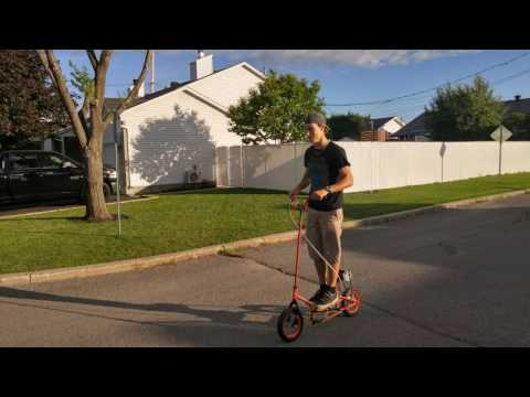 How to do an electric scooter