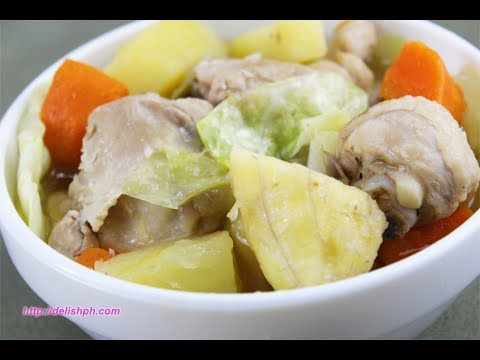 Chicken Pochero (Ilonggo Version)